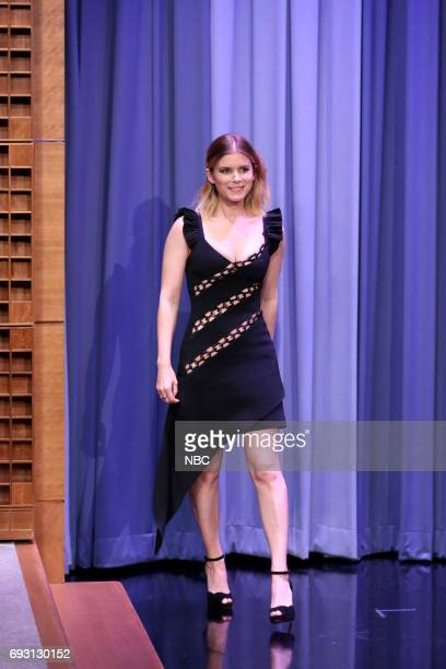 Actor Kate Mara arrives for an interview on June 6 2017