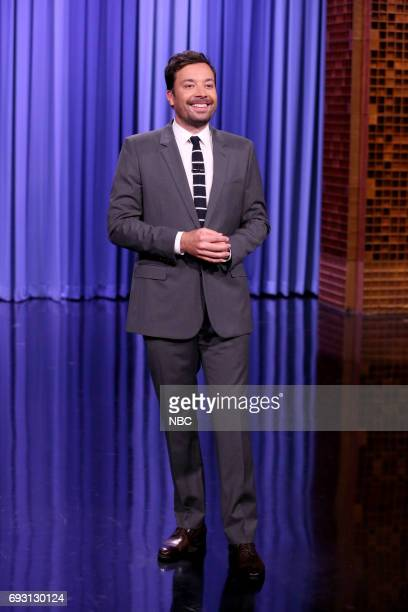 Host Jimmy Fallon during the opening monologue on June 6 2017