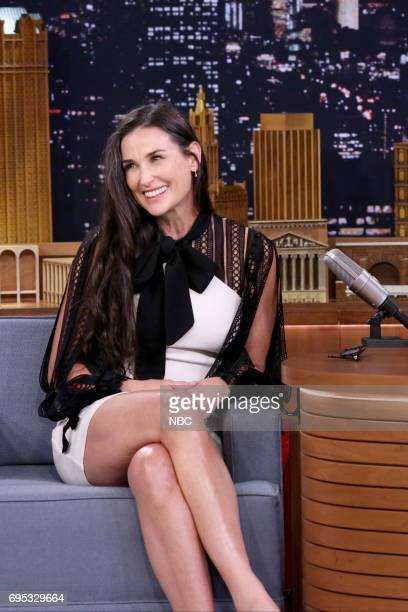 Actor Demi Moore during an interview on June 12 2017