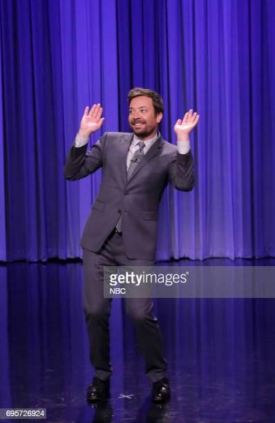 Host Jimmy Fallon during 'Dance Battle' on June 13 2017