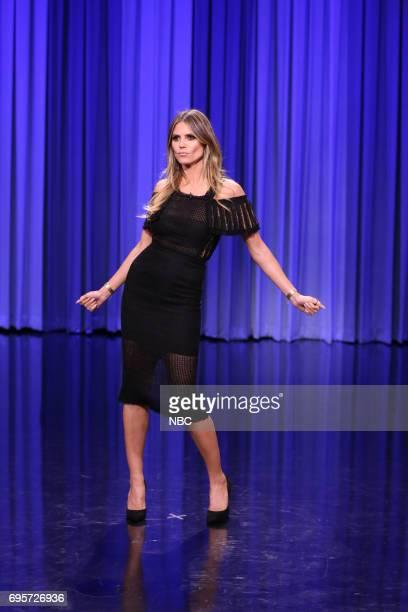 Model Heidi Klum during 'Dance Battle' on June 13 2017