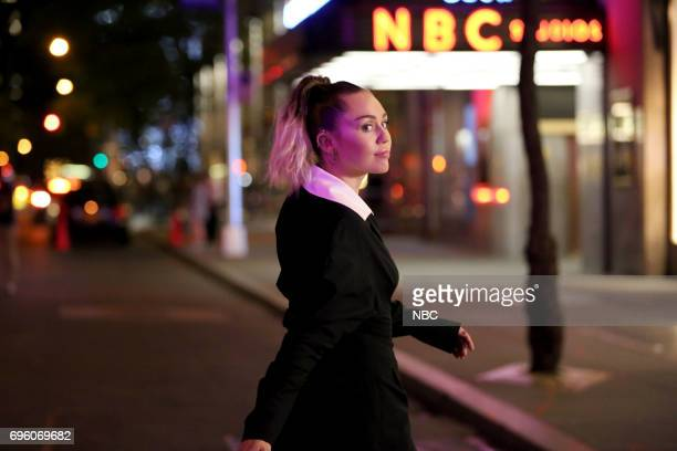 Musical Guest/CoHost Miley Cyrus 'Opening Credits' on June 13 2017