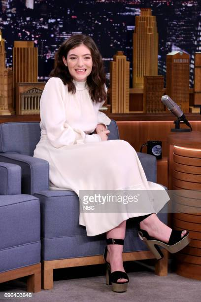 Musical Guest Lorde during an interview on June 15 2017