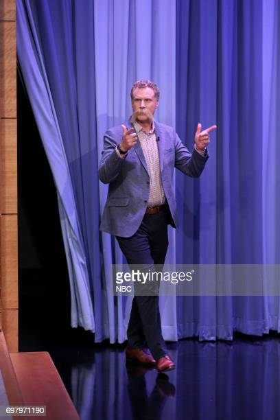 Actor/Comedian Will Ferrell arrives for an interview on June 19 2017
