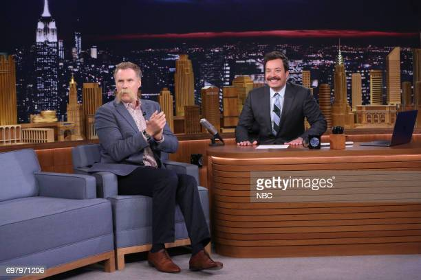 Actor/Comedian Will Ferrell during an interview with host Jimmy Fallon on June 19 2017