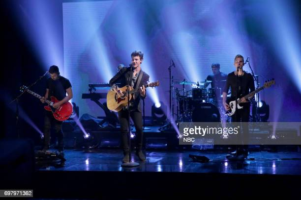 Musical Guest Shawn Mendes performs 'There's Nothing Holdin' Me Back' on June 19 2017