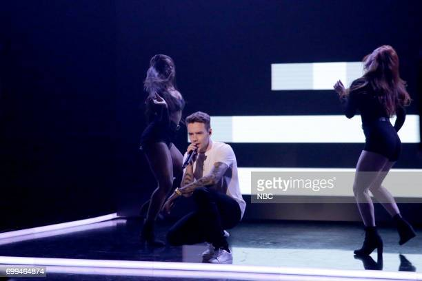 Musical Guest Liam Payne performs 'Strip That Down' on June 21 2017