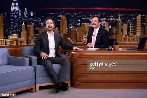 Actor Ray Romano during an interview with host Jimmy Fallon on June 22 2017