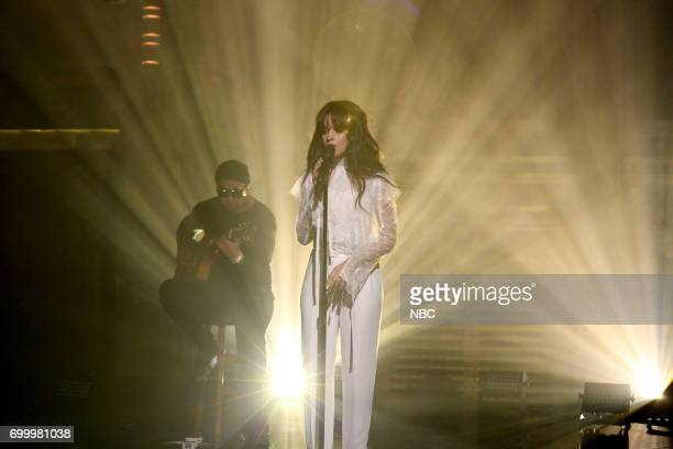 Musical Guest Camila Cabello performs 'Crying in the Club' on June 22 2017