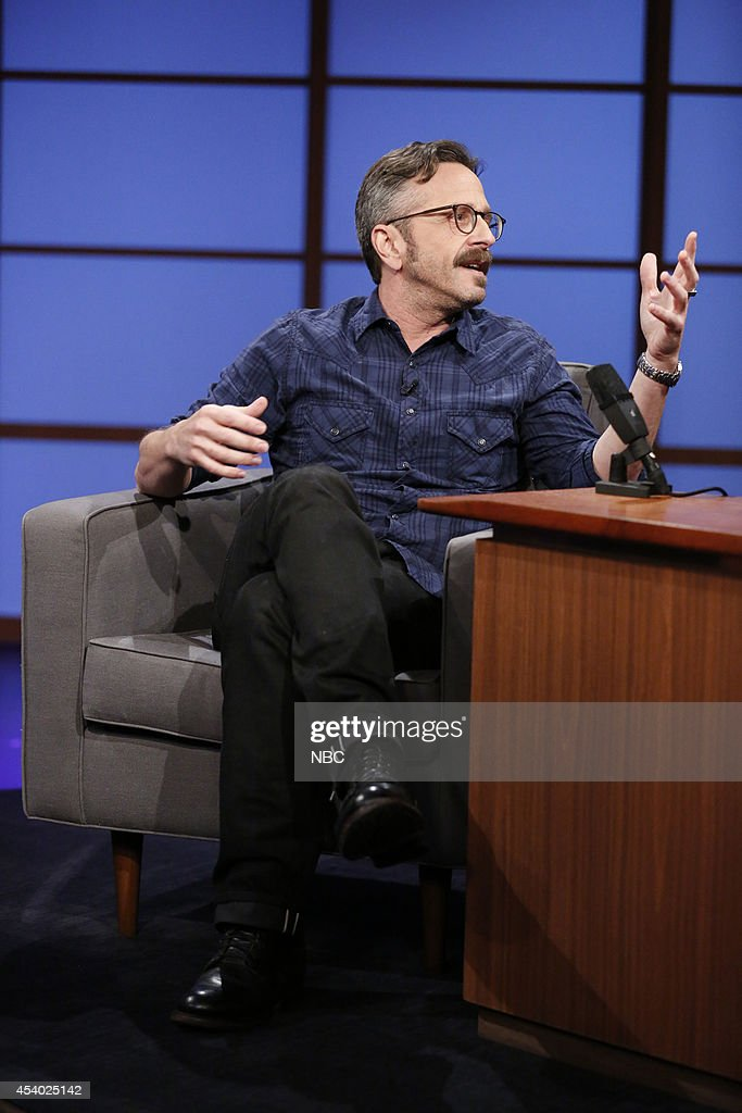 Comedian Marc Maron during an interview on July 15, 2014 --