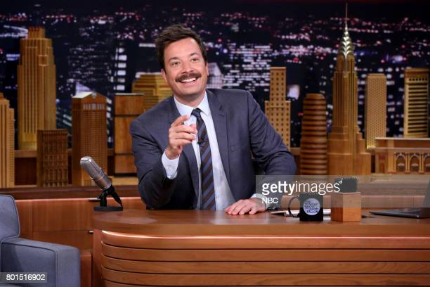 Host Jimmy Fallon during the opening monologue on June 26 2017