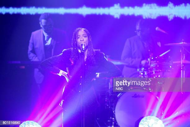 Singer Kilo Kish performs 'Love Can Be' on June 26 2017