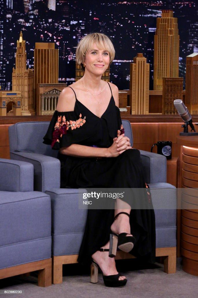 Actor/Comedian Kristen Wiig during an interview on June 28, 2017 --