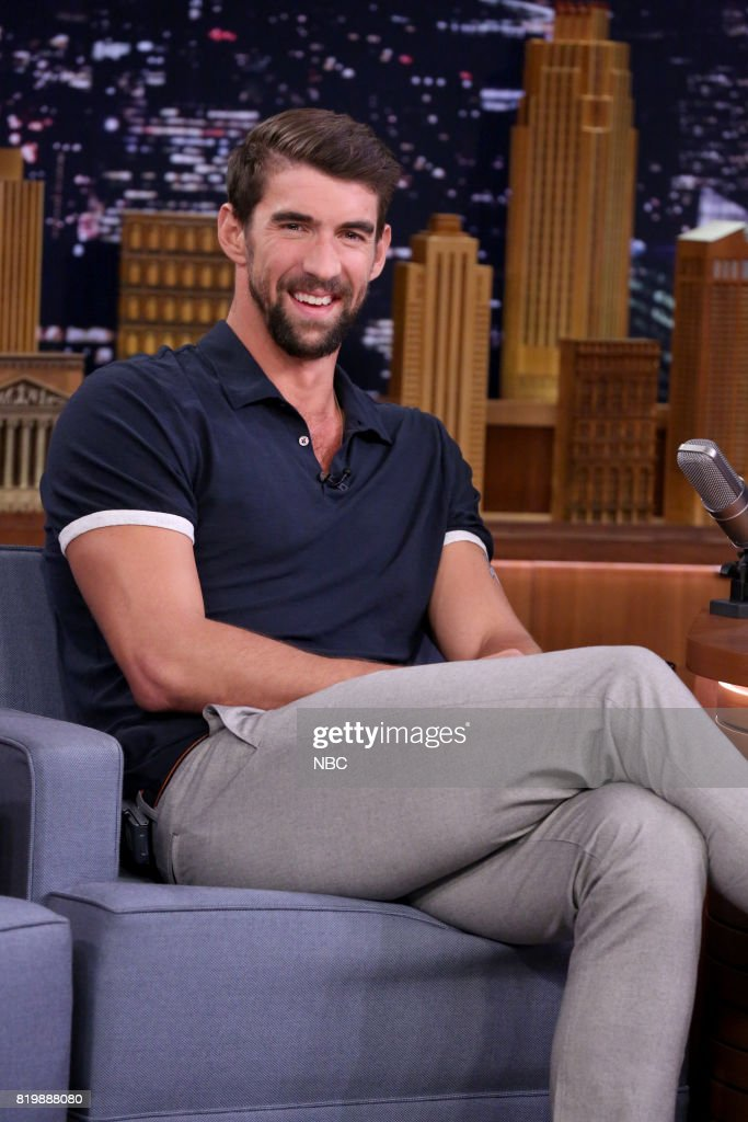 Athlete Michael Phelps during an nterview on July 20, 2017 --