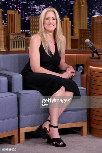 Author Julie Klam during an interview on July 20 2017