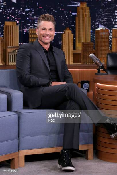 Actor Rob Lowe during an interview on July 24 2017