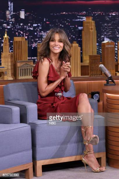 Actress Halle Berry during an interview on August 2 2017