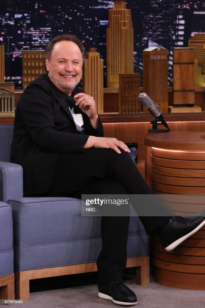 Actor Billy Crystal during an interview on August 8, 2017 --