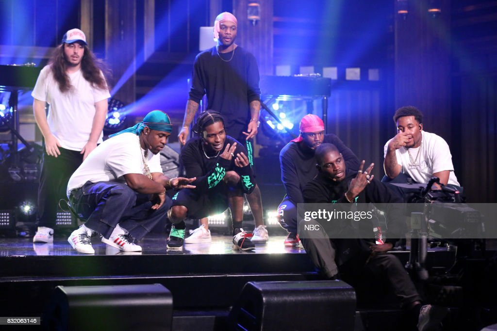 Musical guest A$AP Mob performs on August 15, 2017 --