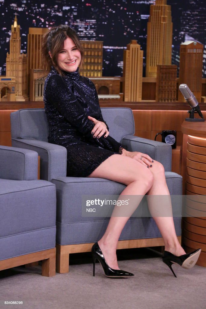 Actress Kathryn Hahn during an interview on August 17, 2017 --