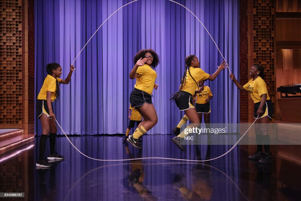 The New Jersey Honey Bees perform during 'Suggestion Box' on August 17, 2017 --