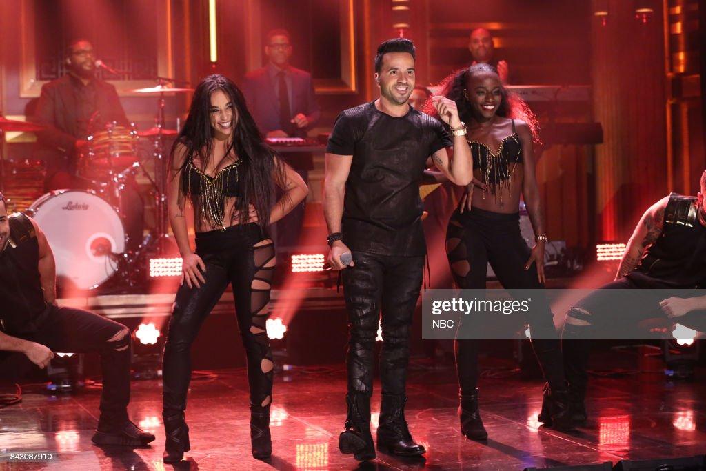 Luis Fonsi performs 'Despacito' on September 5, 2017 --