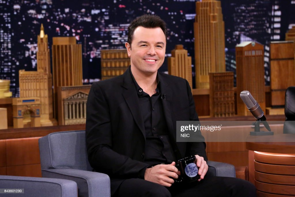 Comedian Seth MacFarlane during an interview on September 6, 2017 --