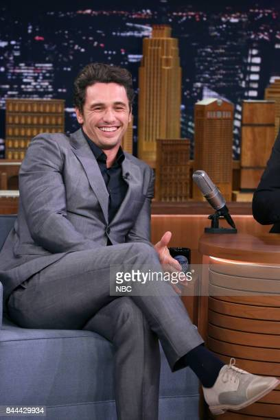 Actor James Franco during an interview on September 8 2017