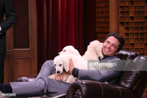 Actor James Franco during 'Pup Quiz' on September 8 2017
