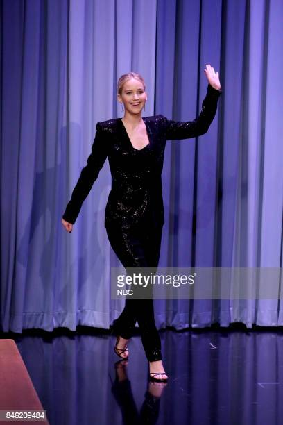 Actress Jennifer Lawrence on September 12 2017