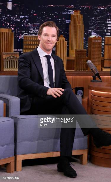 Actor Benedict Cumberbatch during an interview on September 15 2017