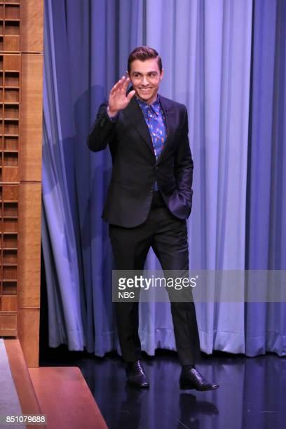 Actor Dave Franco arrives for an interview on September 21 2017
