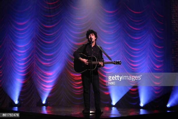 Billie Joe Armstrong performs 'Ordinary World' on September 22 2017