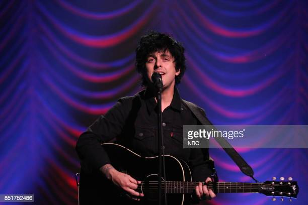 Billie Joe Armstrong performs 'Ordinary World' on September 22 2017