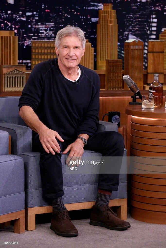 Actor Harrison Ford on September 28, 2017 --