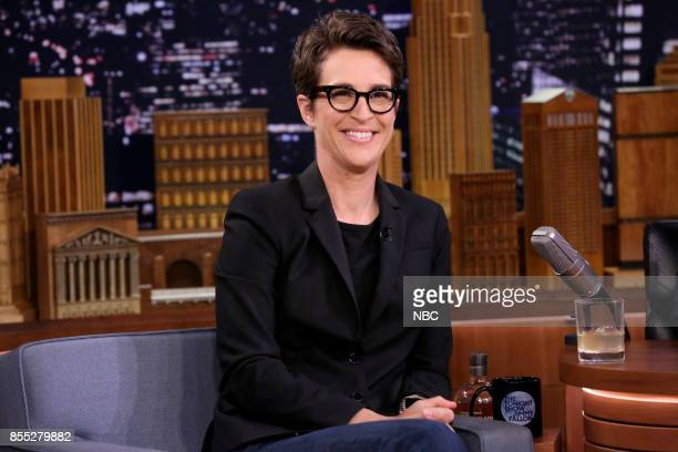 Author and Television Host Rachel Maddow on September 28 2017