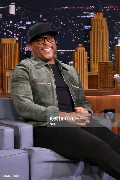 Actor Tyler Perry during an interview on October 9 2017