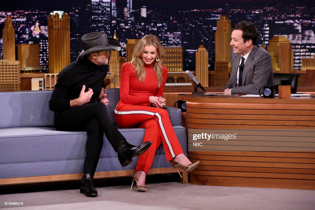 "NBC's ""Tonight Show Starring Jimmy Fallon"" With 							Tim McGraw & Faith Hill, Julian Edelman"