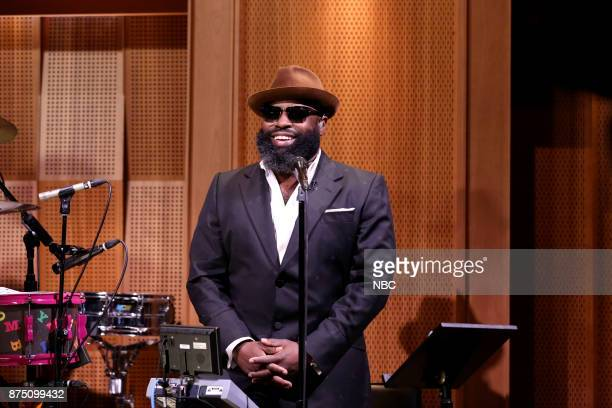 Tariq Black Thought Trotter during 'Hastag #FootballRaps' on November 16 2017