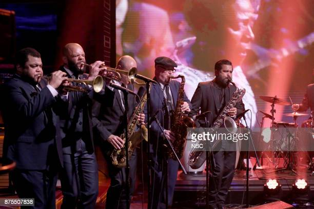 The Dap Kings and The Roots perform 'A Tribute to Sharon Jones' on November 17 2017