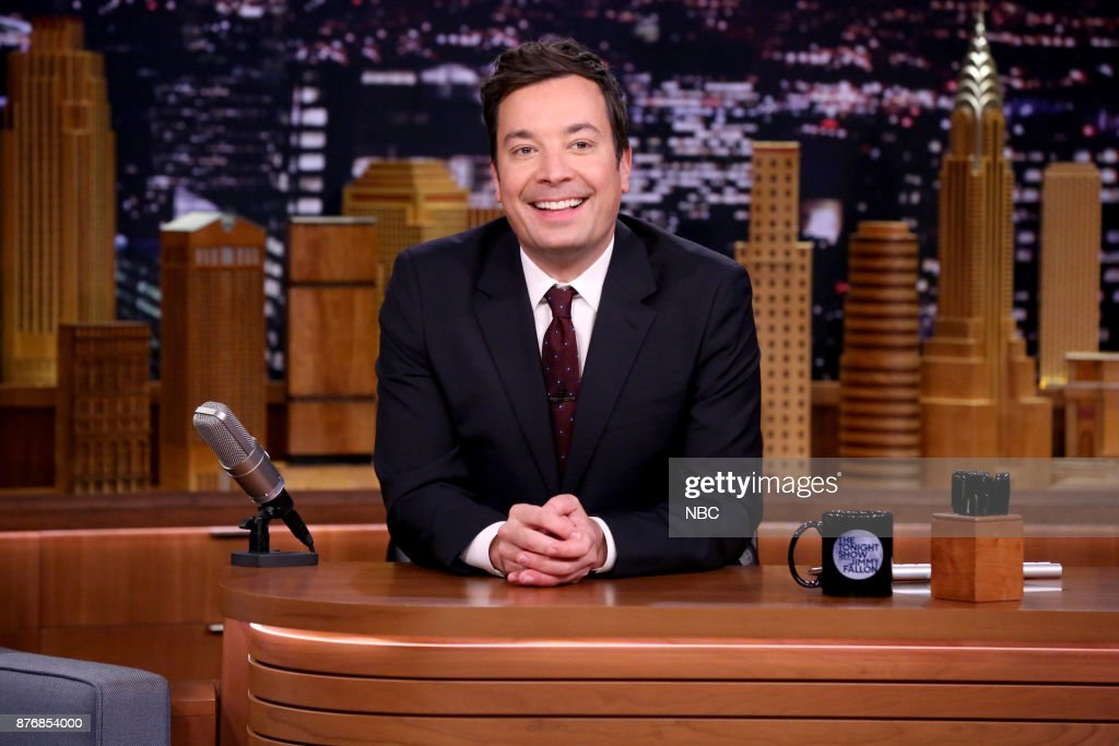 Host Jimmy Fallon during 'Chit-Chat' on November 20, 2017 --