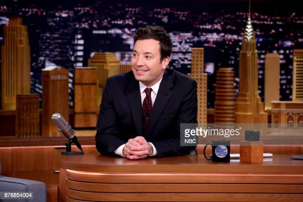 Host Jimmy Fallon during 'ChitChat' on November 20 2017
