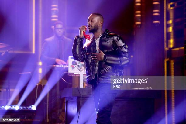 Musical Guest Goldlink performs 'Crew' on November 20 2017