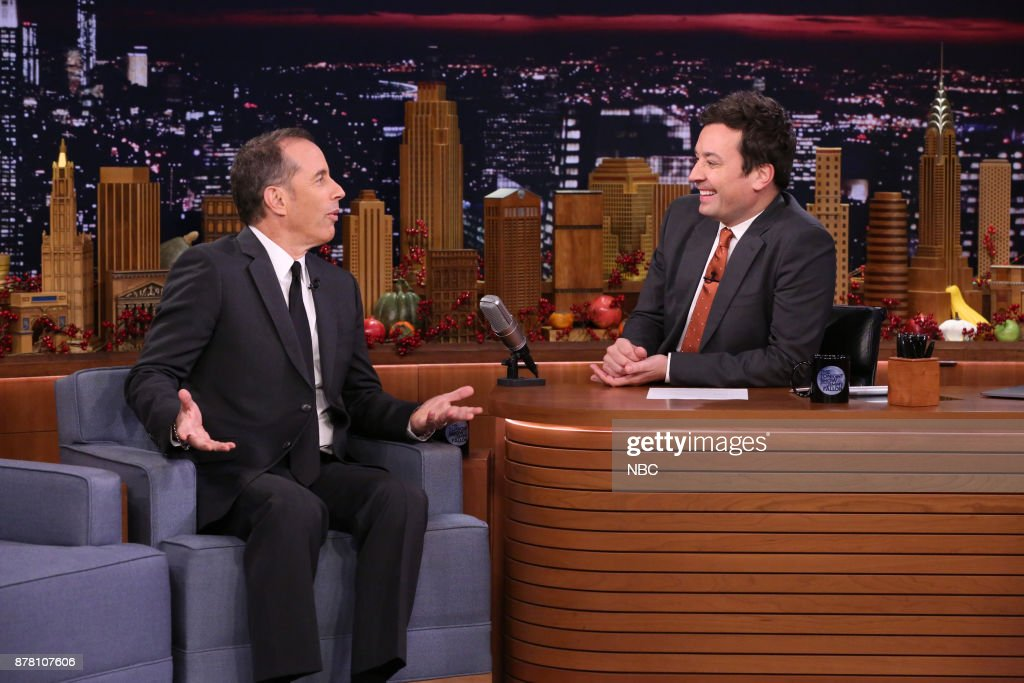 "NBC's ""Tonight Show Starring Jimmy Fallon"" With 				Jerry Seinfeld and Robert Irwin"