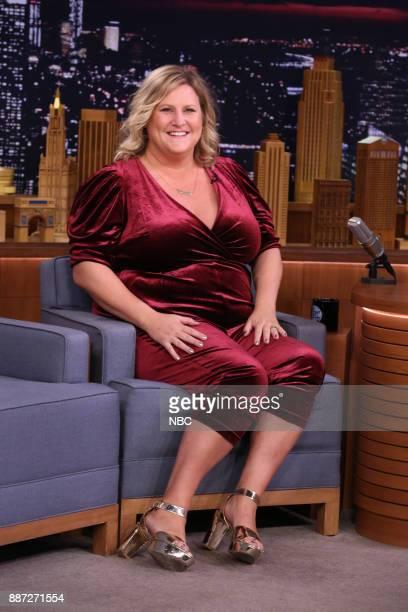 Comedian Bridget Everett during an interview on December 6 2017