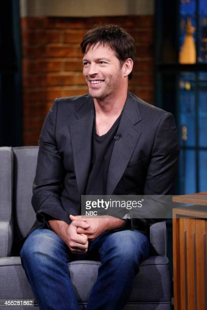 Actor Harry Connick Jr during an interview on September 11 2014