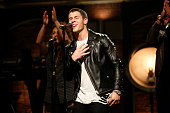 Musical guest Nick Jonas performs on September 11 2014