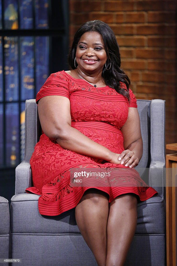 Actress Octavia Spencer during an interview on September 16 2014