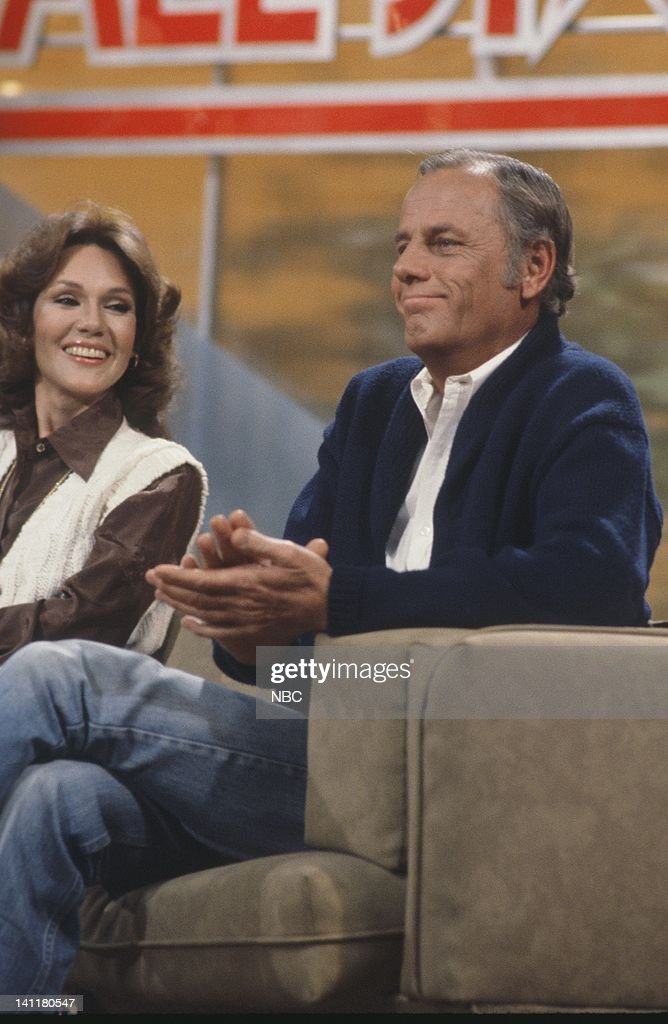 SECRETS -- Episode 1 -- Air Date -- Pictured: (l-r) Former Miss America/TV Personality Mary Ann Mobley, Actor McLean Stevenson -- Photo by: Gary Null/NBCU Photo Bank