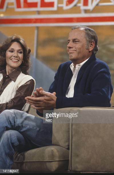 SECRETS Episode 1 Air Date Pictured Former Miss America/TV Personality Mary Ann Mobley Actor McLean Stevenson Photo by Gary Null/NBCU Photo Bank